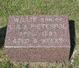 PIETENPOL, WILLIE - Sioux County, Iowa   WILLIE PIETENPOL