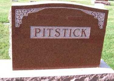 PITSTICK, FAMILY HEADSTONE - Sioux County, Iowa | FAMILY HEADSTONE PITSTICK