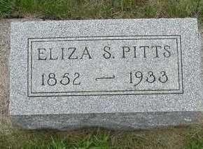 PITTS, ELIZA S. - Sioux County, Iowa | ELIZA S. PITTS