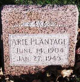 PLANTAGE, ARIE - Sioux County, Iowa | ARIE PLANTAGE
