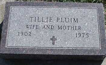 PLUIM, TILLIE - Sioux County, Iowa | TILLIE PLUIM