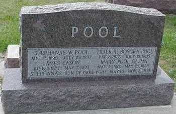 POOL, STEPHANAS W. - Sioux County, Iowa | STEPHANAS W. POOL