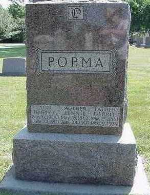 POPMA, GERRIT  (FATHER) - Sioux County, Iowa | GERRIT  (FATHER) POPMA