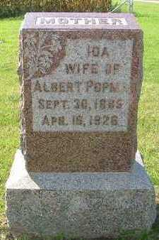 POPMA, IDA (MRS. ALBERT) - Sioux County, Iowa | IDA (MRS. ALBERT) POPMA
