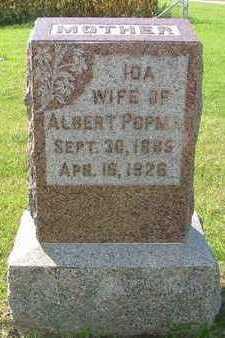 POPMA, IDA (MRS. ALBERT) - Sioux County, Iowa | IDA (MRS. ALBERT) POPMA