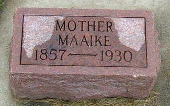POPMA, MAAIKE - Sioux County, Iowa | MAAIKE POPMA