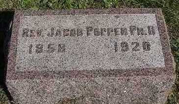 POPPEN, JACOB REV. PHD. - Sioux County, Iowa | JACOB REV. PHD. POPPEN