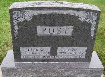 POST, DICK W. - Sioux County, Iowa | DICK W. POST