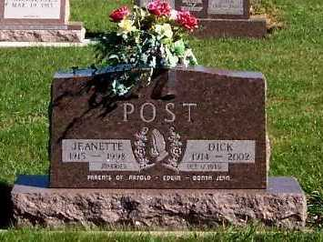 POST, JEANETTE - Sioux County, Iowa | JEANETTE POST