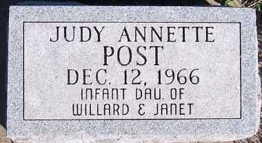 POST, JUDY ANNETTE - Sioux County, Iowa | JUDY ANNETTE POST