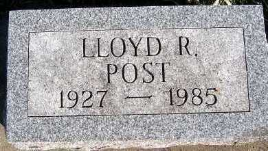 POST, LLOYD R. - Sioux County, Iowa | LLOYD R. POST