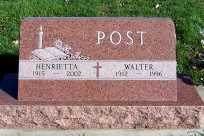 POST, HENRIETTA - Sioux County, Iowa | HENRIETTA POST