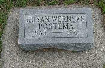 WERNEKE POSTEMA, SUSAN - Sioux County, Iowa | SUSAN WERNEKE POSTEMA