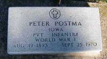 POSTMA, PETER - Sioux County, Iowa | PETER POSTMA