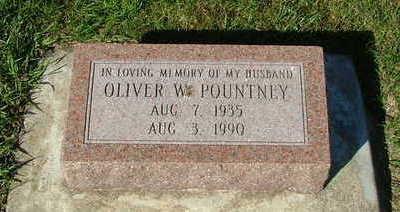 POUNTNEY, OILVER W. - Sioux County, Iowa | OILVER W. POUNTNEY