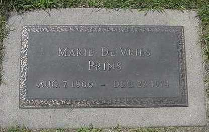 PRINS, MARIE - Sioux County, Iowa | MARIE PRINS