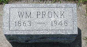 PRONK, WM - Sioux County, Iowa | WM PRONK