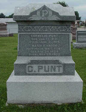 PUNT, C. - Sioux County, Iowa | C. PUNT