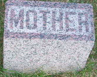 QUIGLEY, BRIDGET (MOTHER) - Sioux County, Iowa | BRIDGET (MOTHER) QUIGLEY