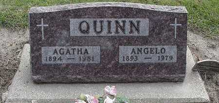 QUINN, AGATHA (MRS. ANGELO) - Sioux County, Iowa | AGATHA (MRS. ANGELO) QUINN