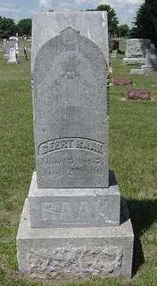 RAAK, GERRIT - Sioux County, Iowa | GERRIT RAAK