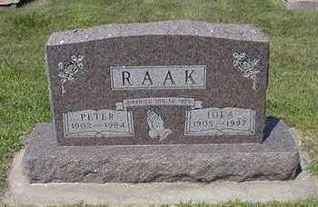 RAAK, IOLA - Sioux County, Iowa | IOLA RAAK