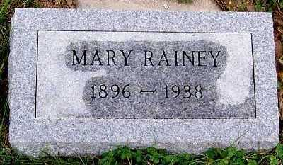 RAINEY, MARY - Sioux County, Iowa | MARY RAINEY
