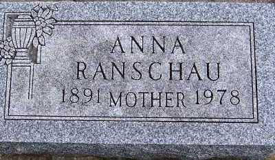 RANSCHAU, ANNA - Sioux County, Iowa | ANNA RANSCHAU