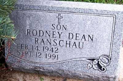RANSCHAU, RODNEY DEAN - Sioux County, Iowa | RODNEY DEAN RANSCHAU