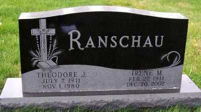 RANSCHAU, IRENE M. - Sioux County, Iowa | IRENE M. RANSCHAU