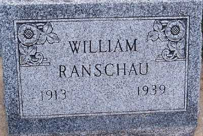 RANSCHAU, WILLIAM - Sioux County, Iowa | WILLIAM RANSCHAU
