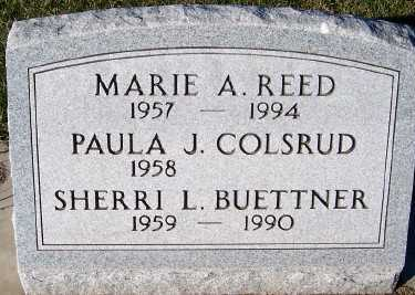 REED, MARIE A. - Sioux County, Iowa | MARIE A. REED