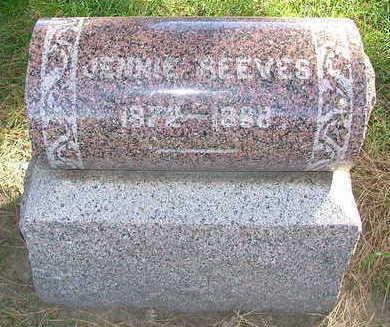 REEVES, JENNIE - Sioux County, Iowa | JENNIE REEVES