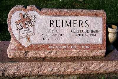 REIMERS, ROY C. - Sioux County, Iowa | ROY C. REIMERS