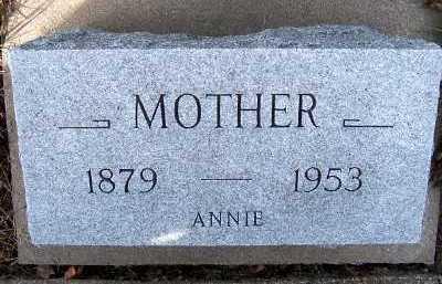 REMMERDE, ANNIE - Sioux County, Iowa | ANNIE REMMERDE
