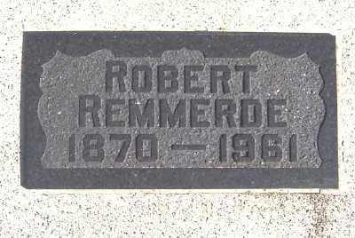 REMMERDE, ROBERT - Sioux County, Iowa   ROBERT REMMERDE