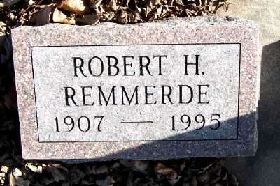 REMMERDE, ROBERT H. - Sioux County, Iowa | ROBERT H. REMMERDE