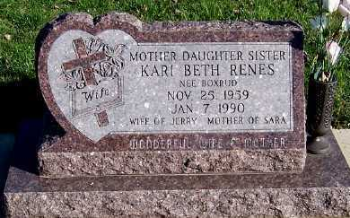 RENES, KARI BETH (MRS. JERRY) - Sioux County, Iowa | KARI BETH (MRS. JERRY) RENES