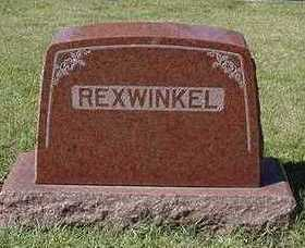 REXWINKEL, HEADSTONE - Sioux County, Iowa | HEADSTONE REXWINKEL