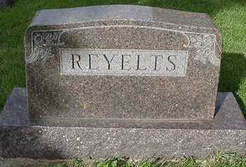REYELTS, HEADSTONE - Sioux County, Iowa | HEADSTONE REYELTS