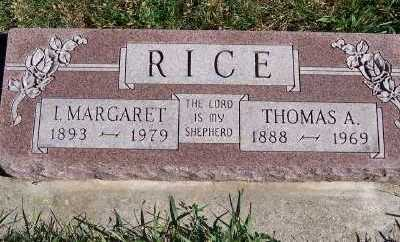 RICE, MARGARET - Sioux County, Iowa | MARGARET RICE