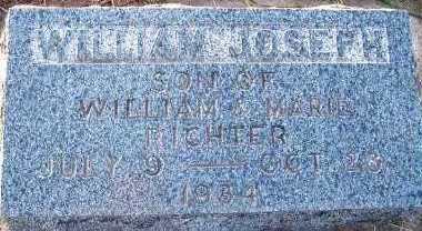 RICHTER, WILLIAM JOSEPH (SON OF WM. & MARIE) - Sioux County, Iowa | WILLIAM JOSEPH (SON OF WM. & MARIE) RICHTER
