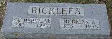 RICKLEFS, HERMAN A. - Sioux County, Iowa | HERMAN A. RICKLEFS