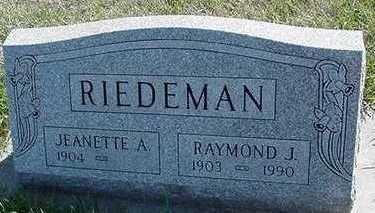 RIEDEMAN, RAYMOND J. - Sioux County, Iowa | RAYMOND J. RIEDEMAN