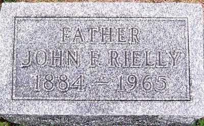 RIELLY, JOHN F. - Sioux County, Iowa | JOHN F. RIELLY