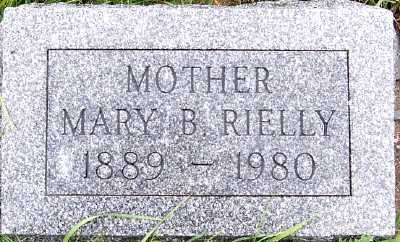 RIELLY, MARY B. - Sioux County, Iowa | MARY B. RIELLY