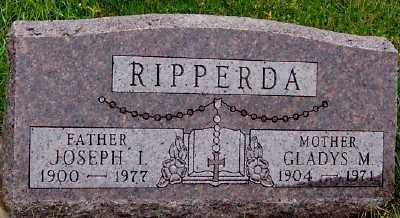 RIPPERDA, JOSEPH I. - Sioux County, Iowa | JOSEPH I. RIPPERDA