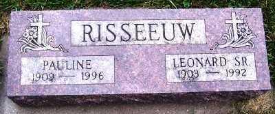 RISSEEUW, LEONARD SR. - Sioux County, Iowa | LEONARD SR. RISSEEUW