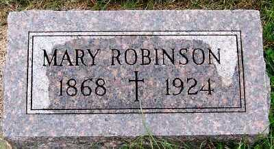 ROBINSON, MARY - Sioux County, Iowa | MARY ROBINSON