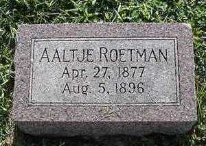 ROETMAN, AALTJE - Sioux County, Iowa | AALTJE ROETMAN